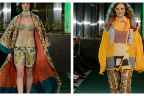 Up cycling fashion with the Crafty Stitchers
